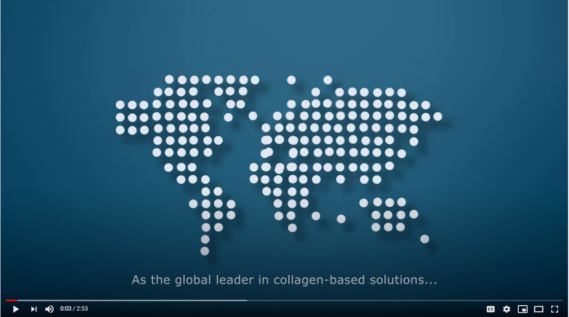 Rousselot global leader in collagen-based solutions