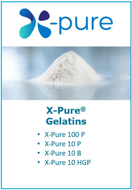 read more on X Pure gelatins