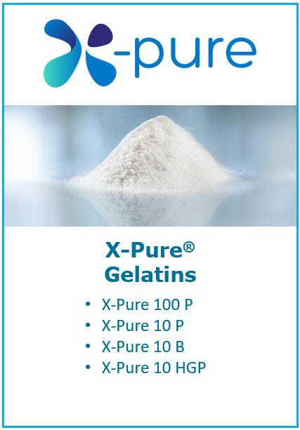 leia mais sobre gelatinas X Pure