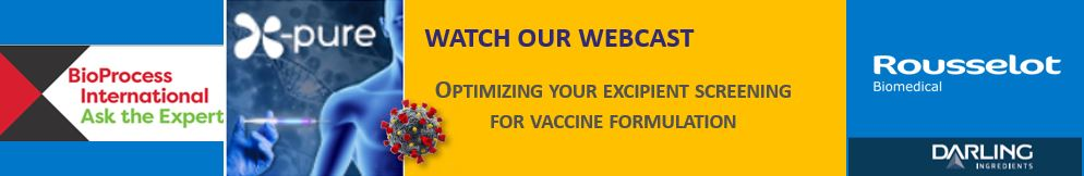 [Translate to Portuguese:] Optimizing your excipient screening for vaccine formulation