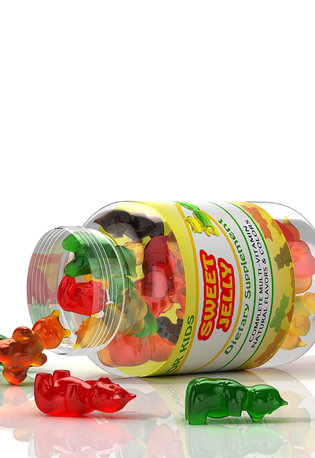 [Translate to Spanish:] Vimanin gummies with Rousselot SiMoGel