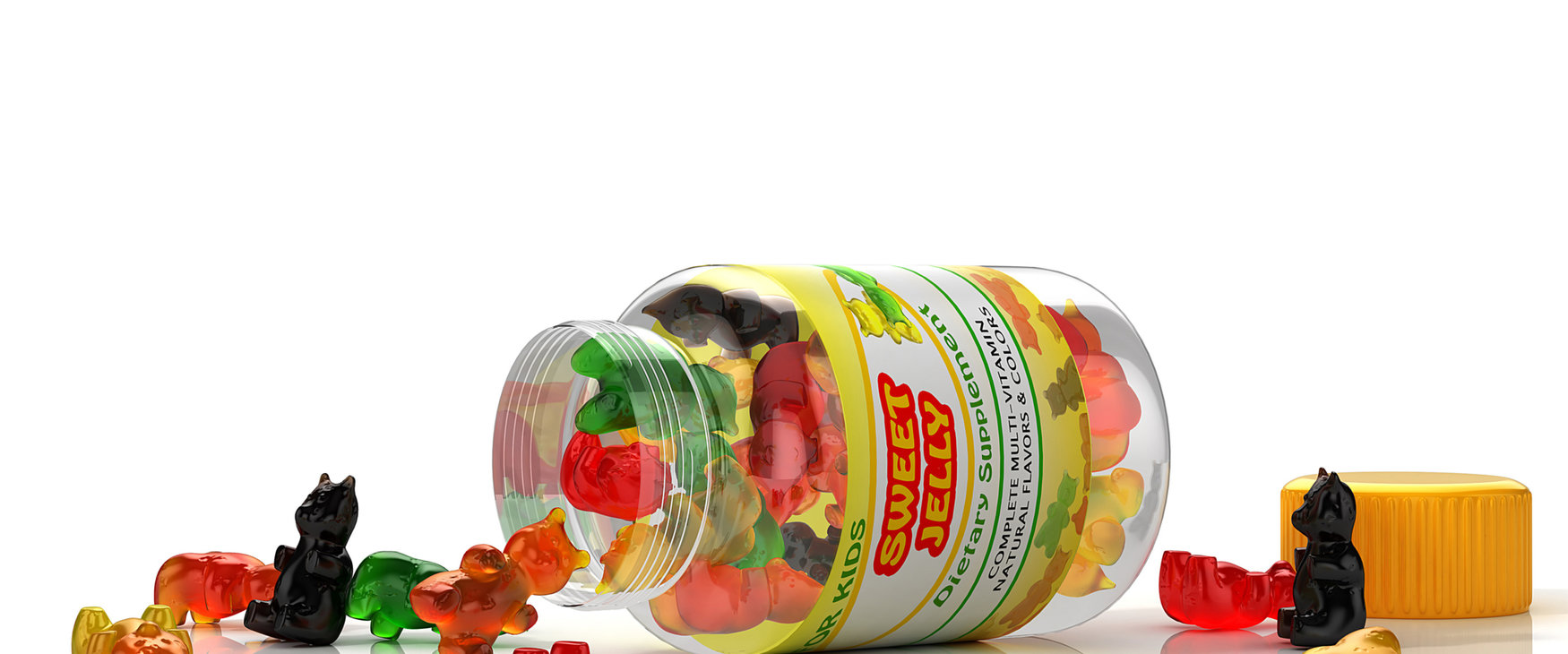 [Translate to Spanish:] Vimanin gummies with Rousselot SiMoGel