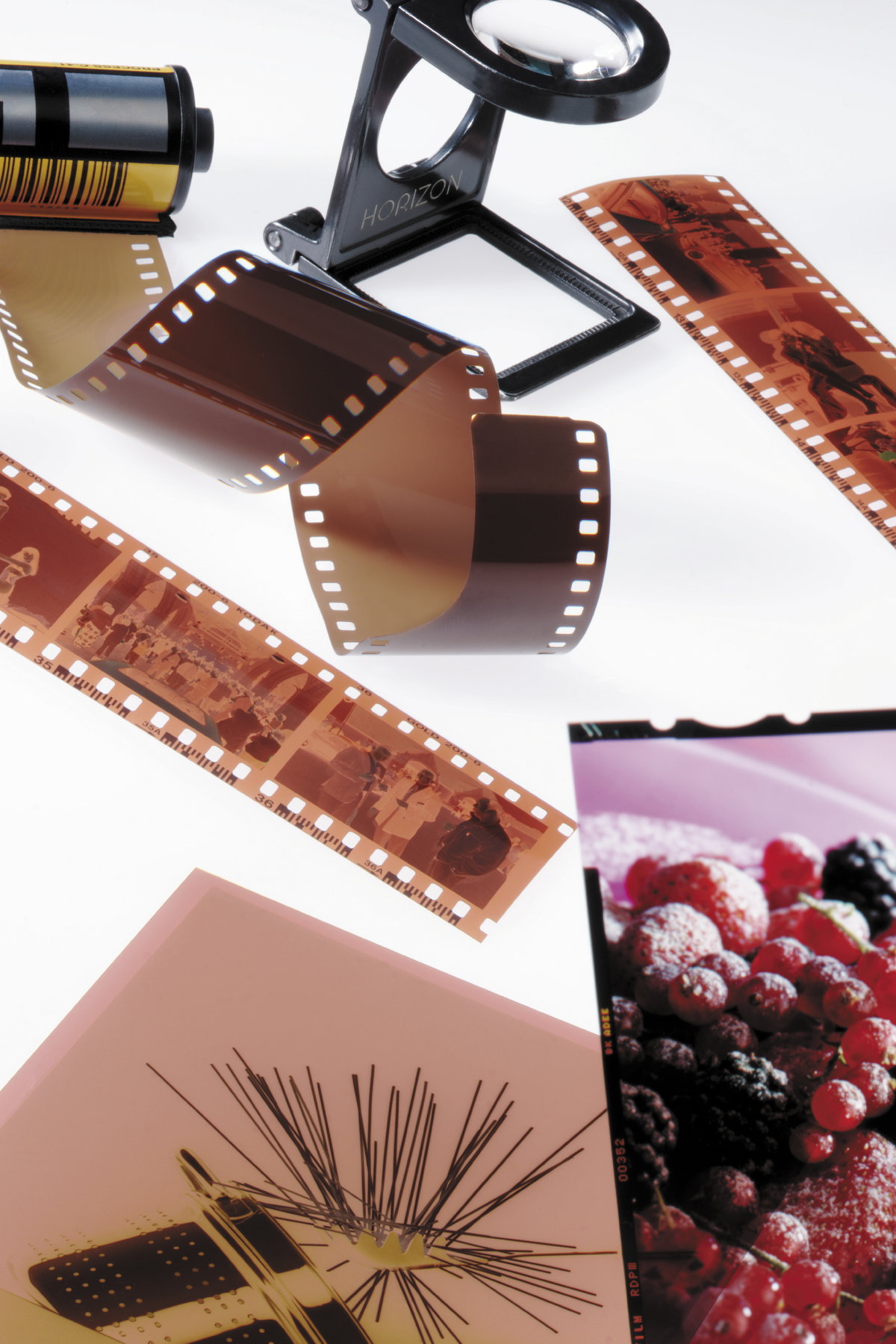 [Translate to Portuguese:] film reel and pictures