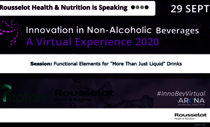 "Webinar: Functional Elements for ""More Than Just Liquid"" Drinks"