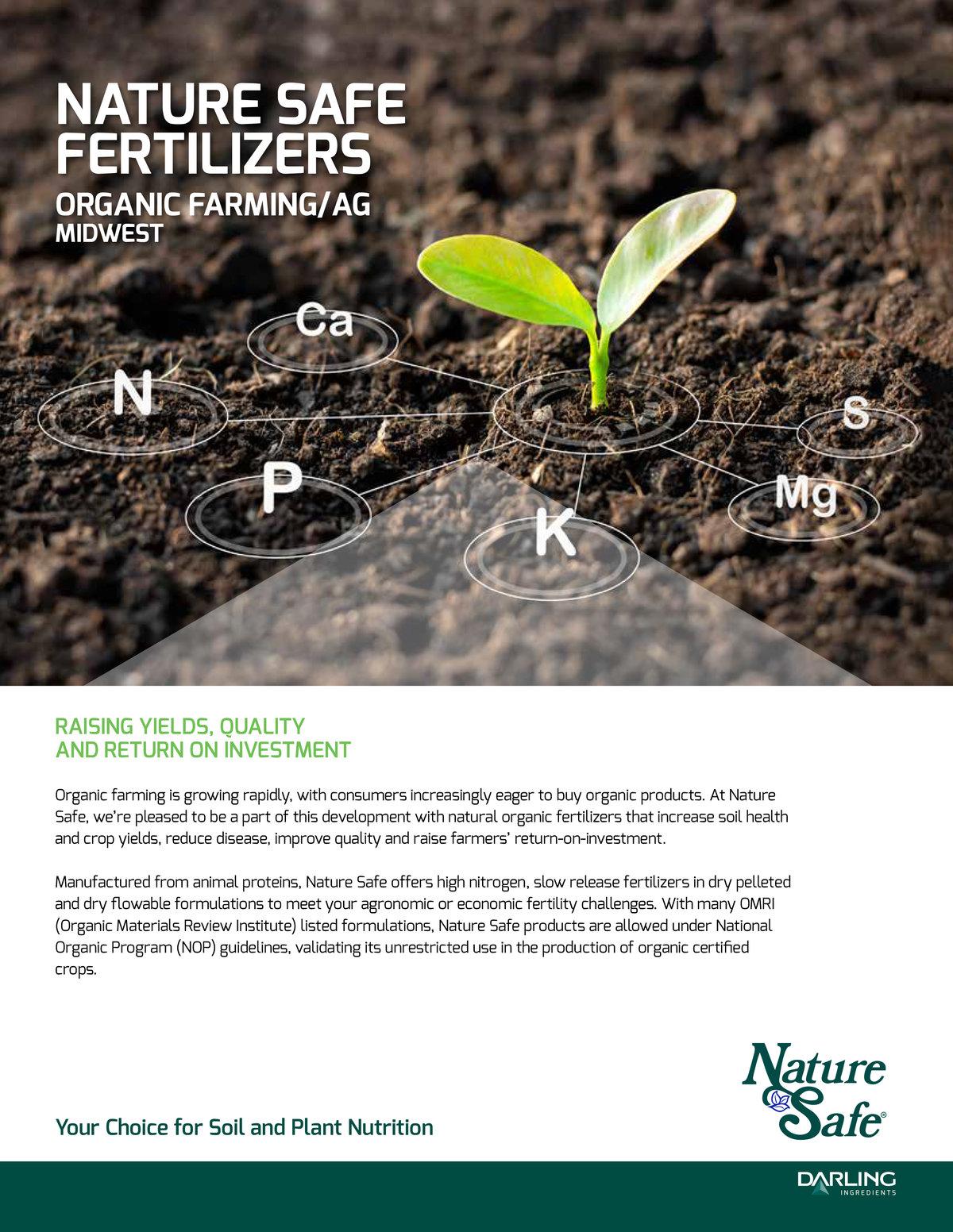 Organic Crop Production Fertilizer