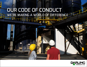 Our code of conduct we're making a world of difference