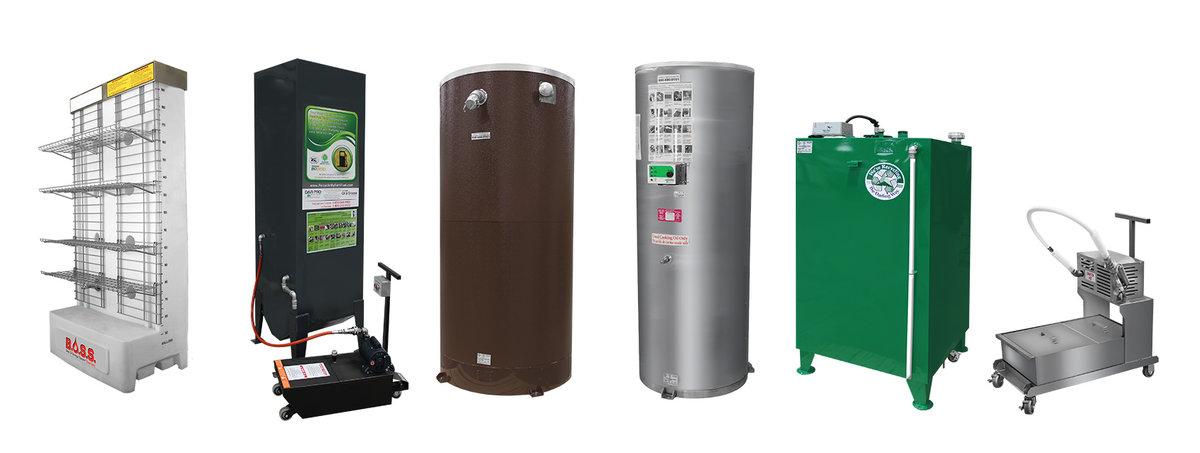 Types de réservoirs d'huile de cuisson utilisés Rothsay