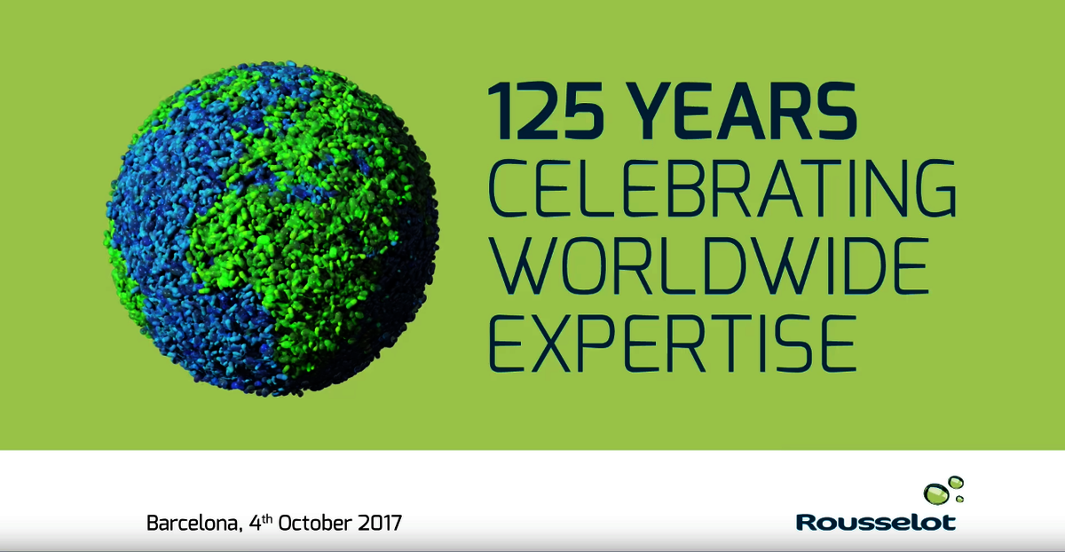 "[Translate to Portuguese:] Rousselot video ""125 years celebrating worldwide expertise"""