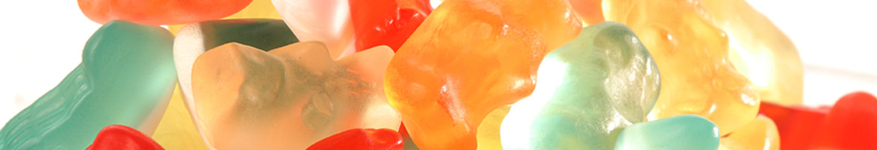 [Translate to Spanish:] different colored gummies